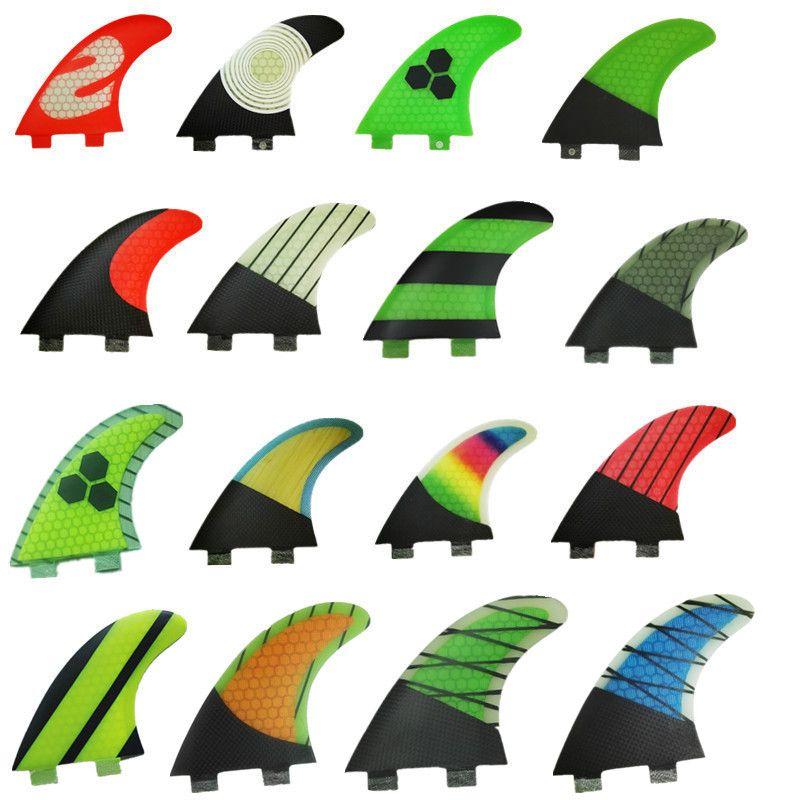 fiberglass and surfboard fin thruster surf fin
