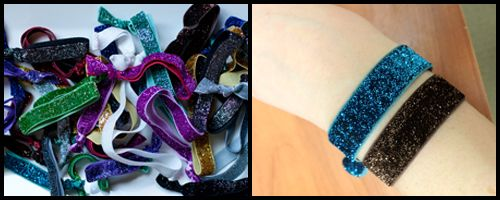 Healthy hair ties that don t pull your hair or leave those weird creases. e55c2a0245f