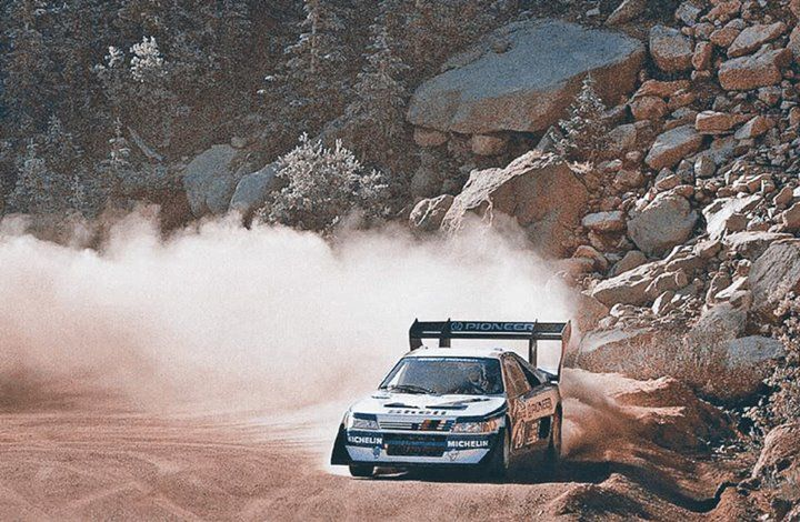 ra ari vatanen pikes peak 1988 0 rally wrc pinterest pikes peak rally and rally car. Black Bedroom Furniture Sets. Home Design Ideas