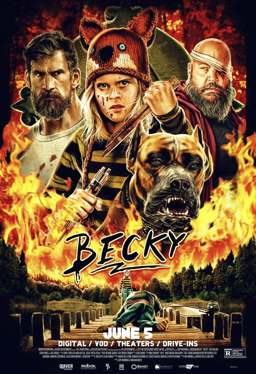 Return To The Main Poster Page For Becky 3 Of 5 Becky Movie Posters Design New Poster