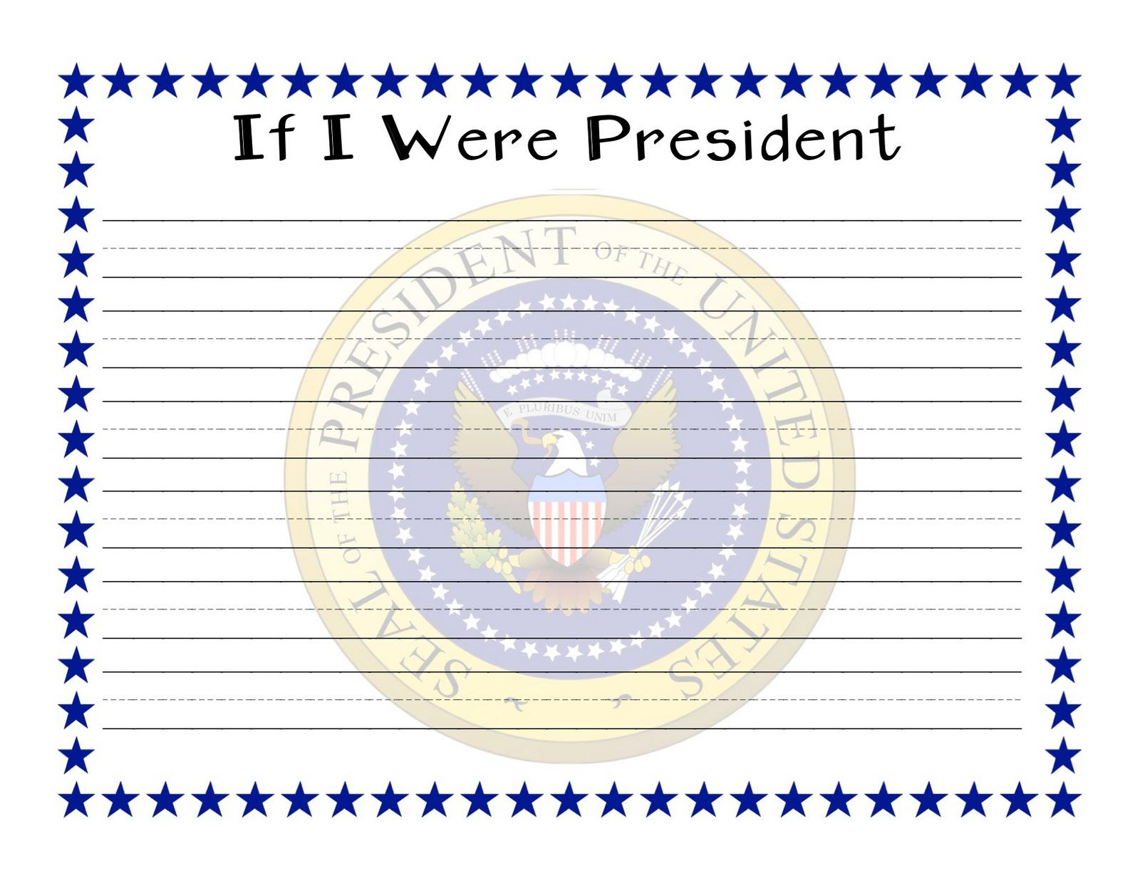 if i were a wizard writing paper for grades first through third if i were the president explains what it would be like to have the job of being the president of the united states 352 tro after i rea