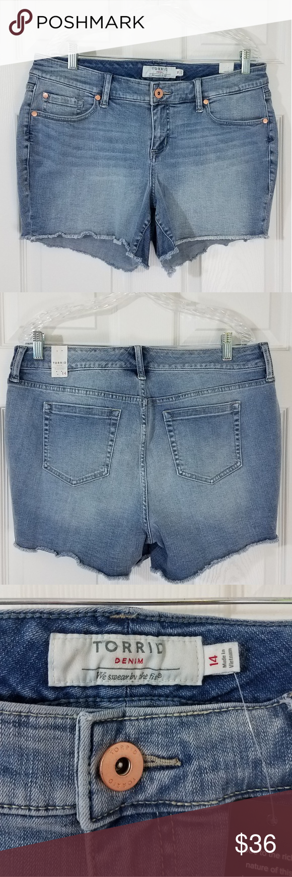 ➕Torrid Denim Shorts
