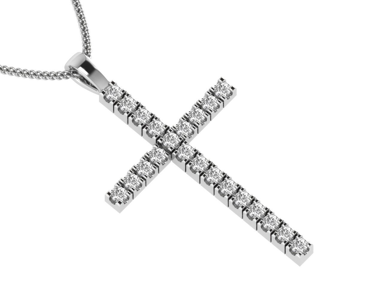 0.20 carat Round Brilliant Cut Diamonds Cross Pendent Available in Gold and Platinum With Diamond Clarity SI, VS and VVS at http://finediamondsrus.com/index.php?route=product/product&product_id=433 #diamond #Pendent #jewelry #giftforher #love #worship #crosspendent #holycross #gold #platinum #FineDiamondsRus #HattonGarden #London