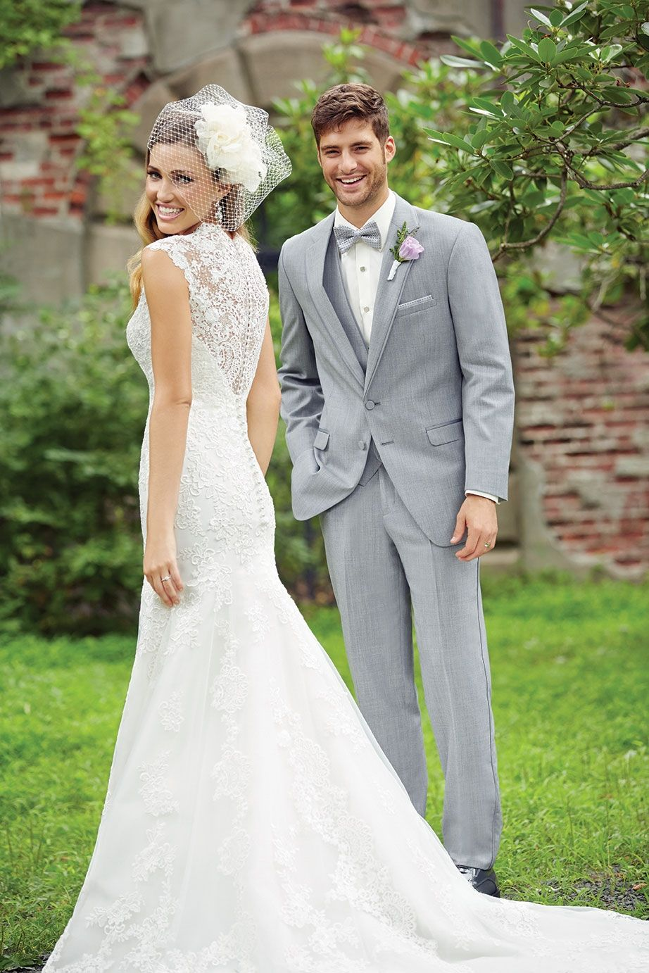 Our heather gray tuxedo would look perfect in your wedding party