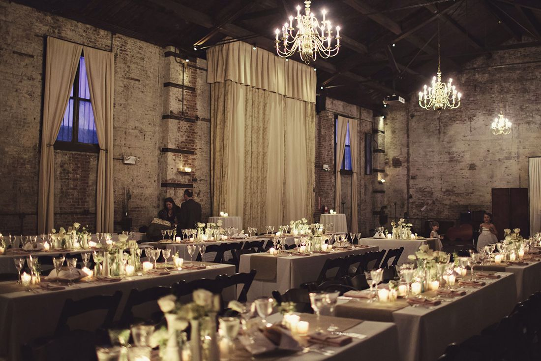 The Green Building Wedding Brooklyn Wedding Venues Industrial Wedding Brooklyn Wedding