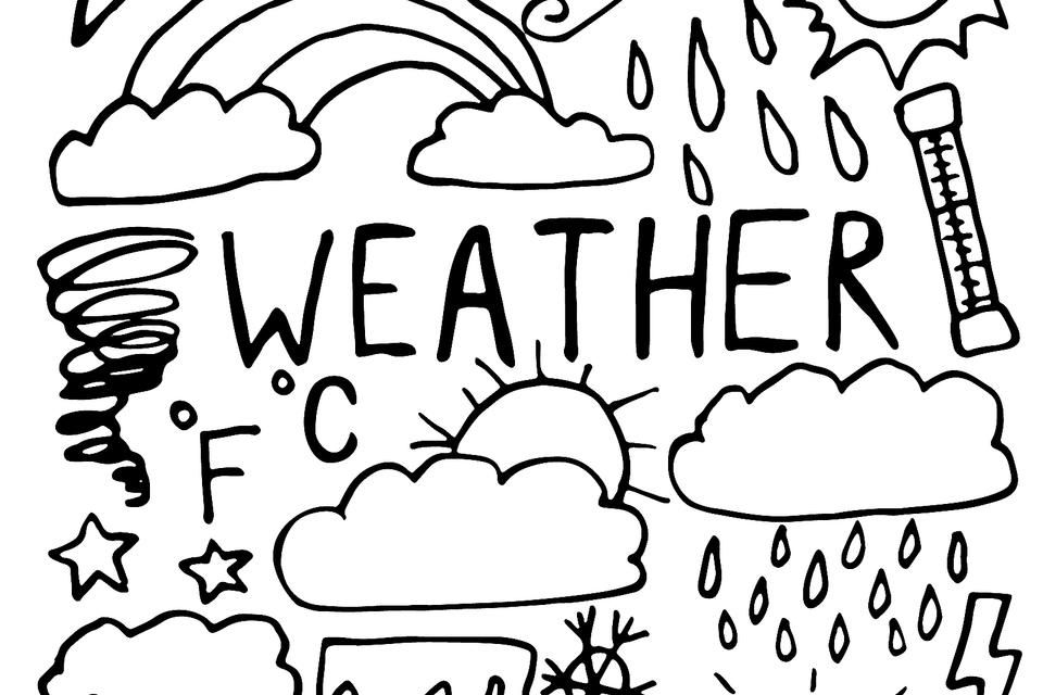 Weather Coloring Pages For Kids Fun Free Printable Coloring Pages Of Weather Events From Hurricanes To Sunny Days Printables 30seconds Mom In 2020 Free Printable Coloring Printable Coloring Pages Coloring Pages