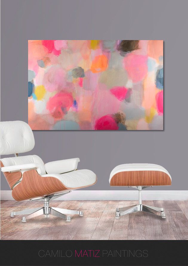 landscape abstract painting acrylic painting abstract art canvas art ...