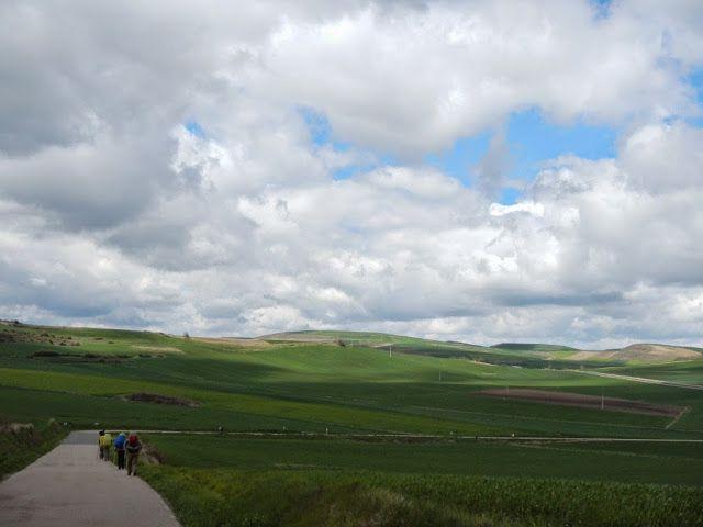 Salida de Viloria de Rioja (Castilla y León).