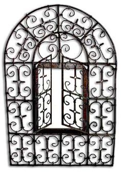 Cadre En Fer Forg 233 Andalou Arcade Porte Gates