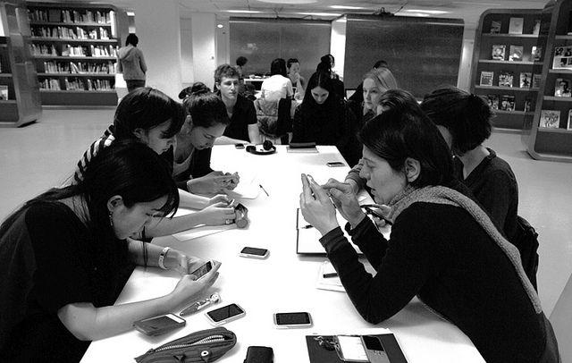 02.02.2013. Workshop Nouvelles écritures à la Gaité Lyrique conduit par Julie Morel.