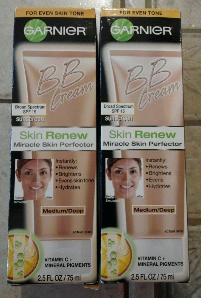 Garnier Bb Cream Skin Renew Miracle Skin Perfector Medium Deep 2 5