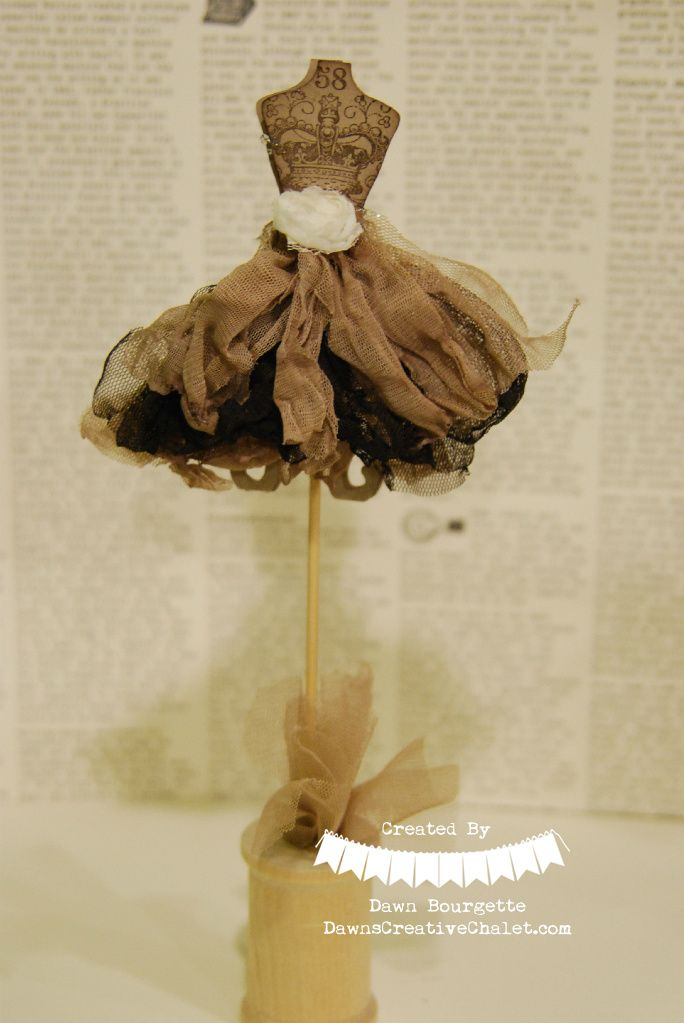 All Dressed Up In Tulle  CASE'd by Kimberly. All Dressed Up! http://www.dawnscreativechalet.com