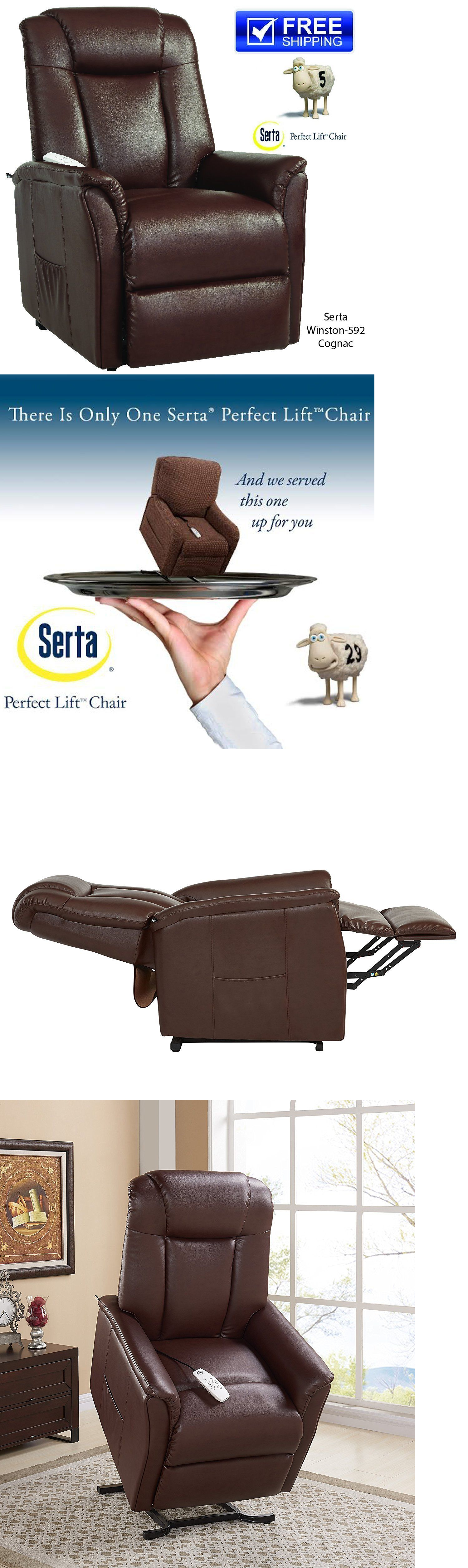 Stairlifts and Elevators: Serta Winston Reclining Lift Chair, Lays ...