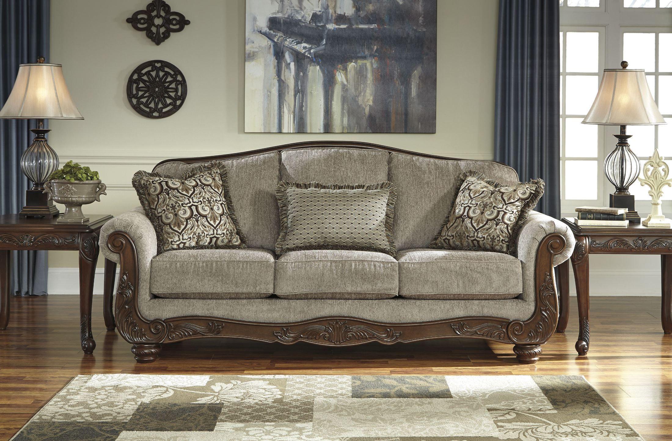 Cecilyn Cocoa Sofa In 2020 Ashley Furniture Sofas Living Room Furniture Furniture