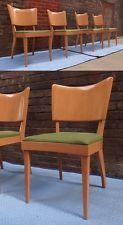 4x 1950s Heywood Wakefield Stingray Dining Chairs Set M555 M 555