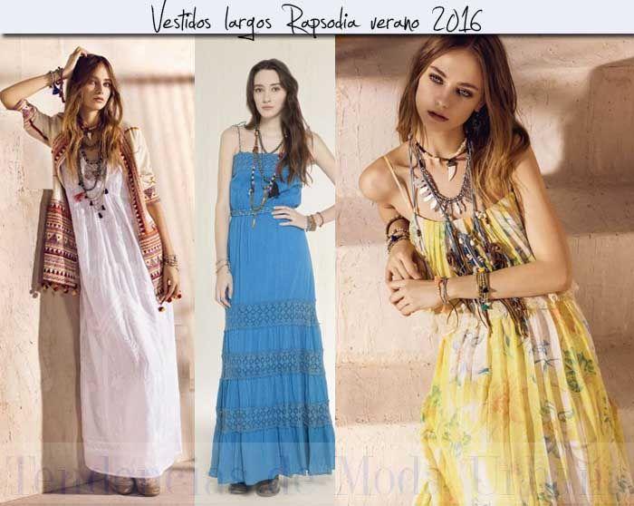 Vestidos informales de moda 2016