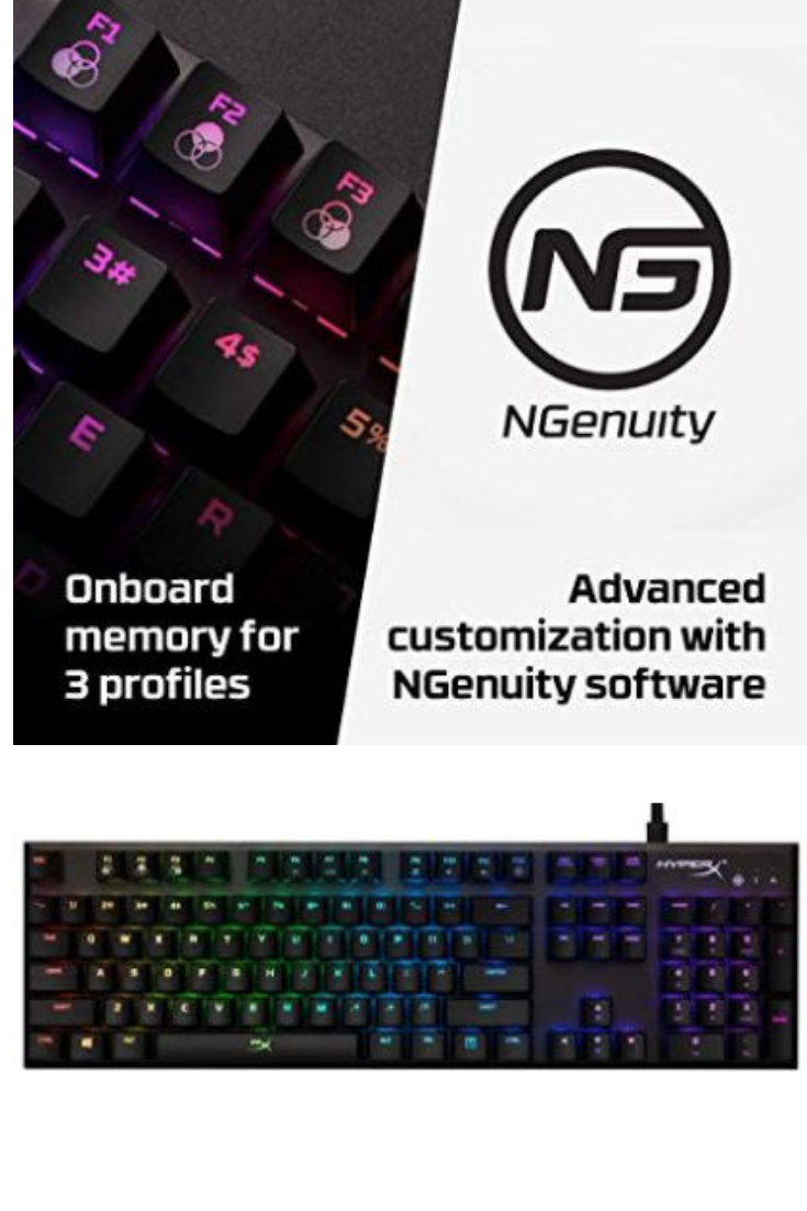 RGB backlit keys with dynamic lighting effects Advanced