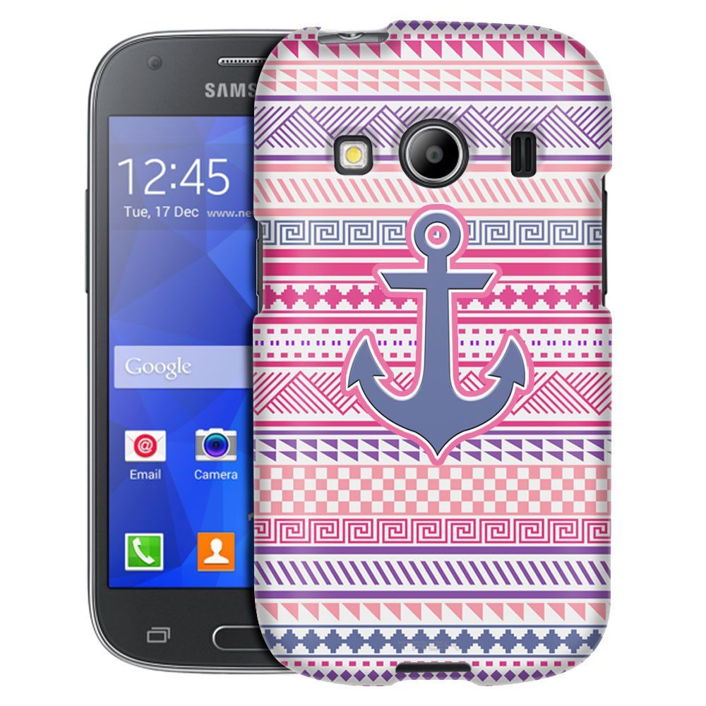Samsung Galaxy Ace Style Anchor on Aztec Andes Vintage Tribal Case