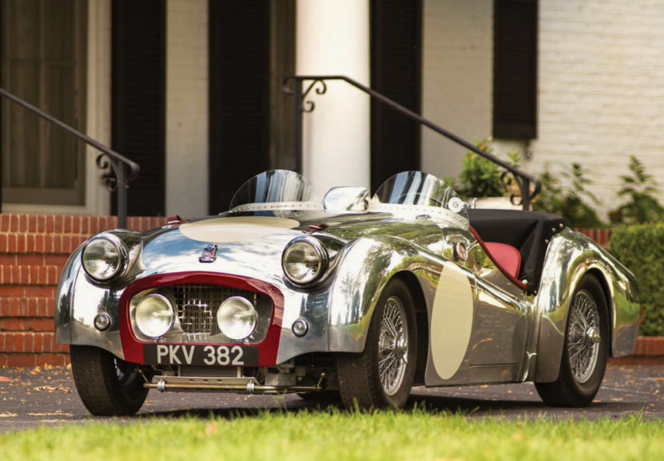 Le Mans Works Inspired Hot Rod Aluminum Bodied 1957 Triumph Tr3