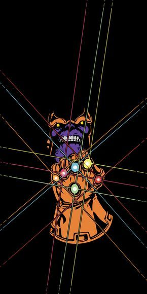 Infinity Gauntlet - Thanos Amoled Wallpaper [1440x2880] | fondos ...