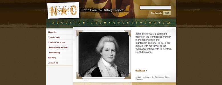 The North Carolina History Project - is