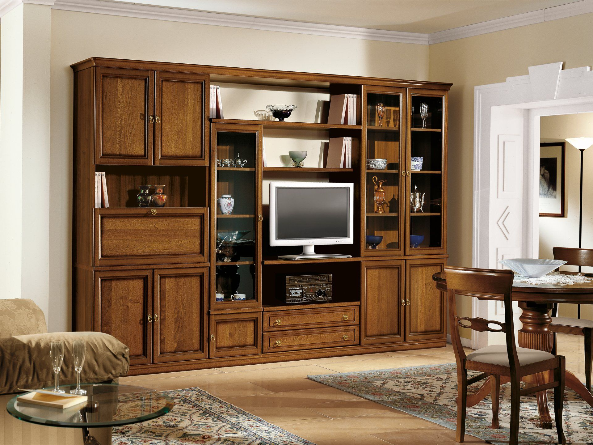 Epoca dining room wall unit by Tomasella