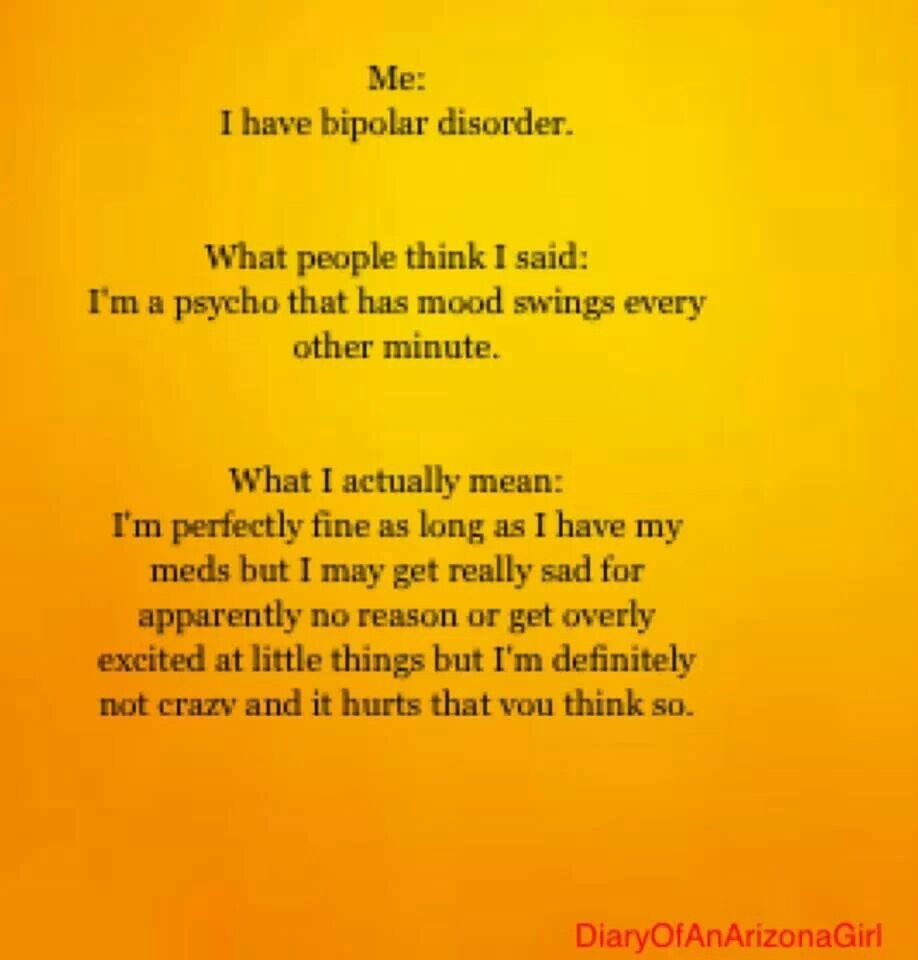 bipolar disorder Learn more about the symptoms of bipolar mania and find a list of symptoms that are usually present in people with bipolar mania.