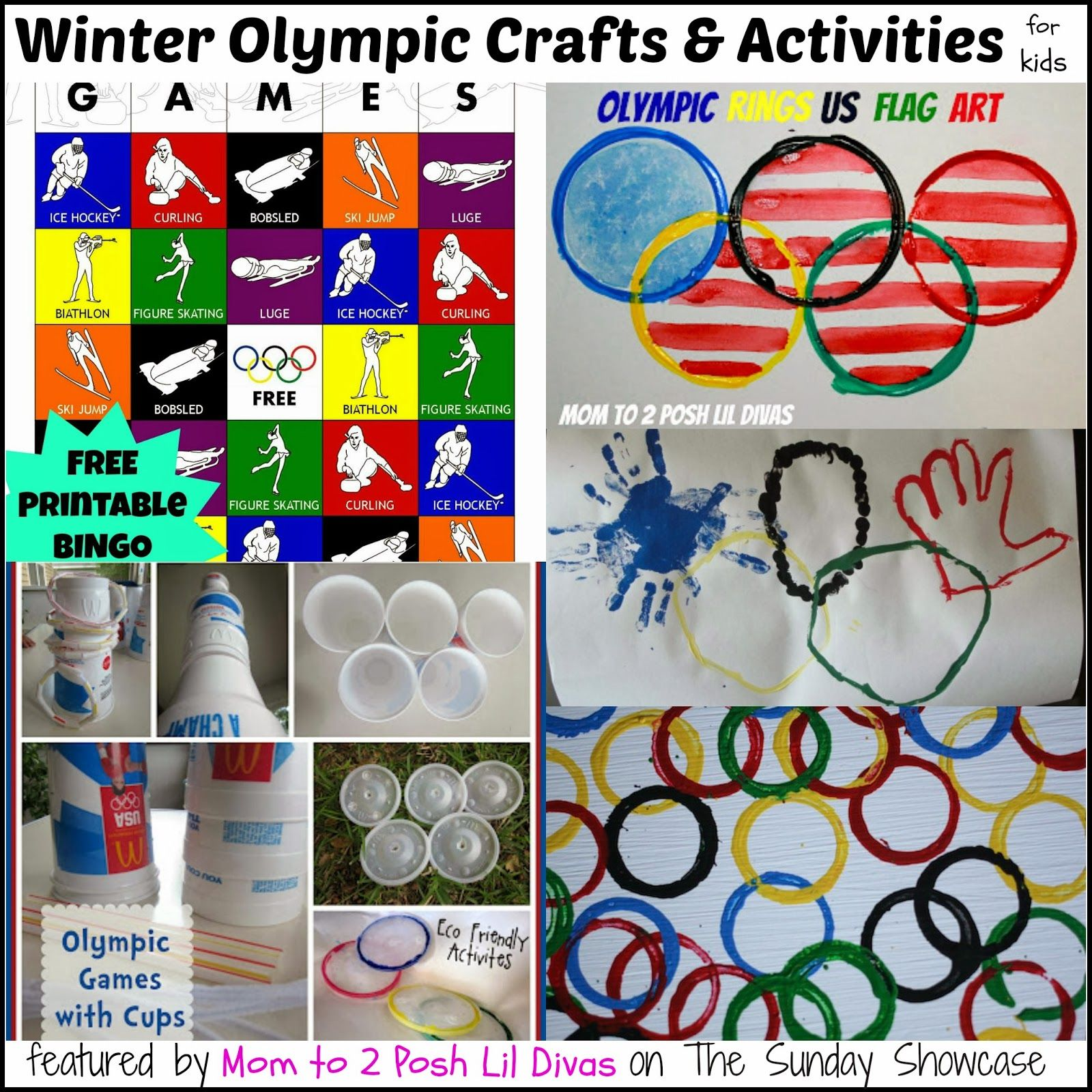 Olympic Themed Activities For Kids The Sunday Showcase 2