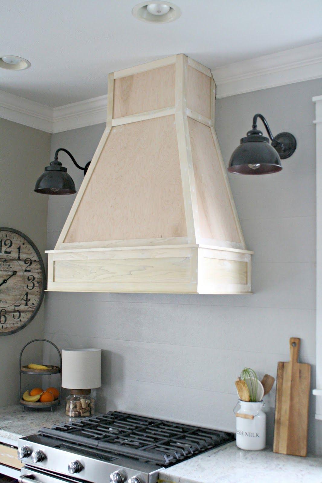 A Diy Ish Wood Vent Hood Interieur Huisdecoratie Tuinkamer