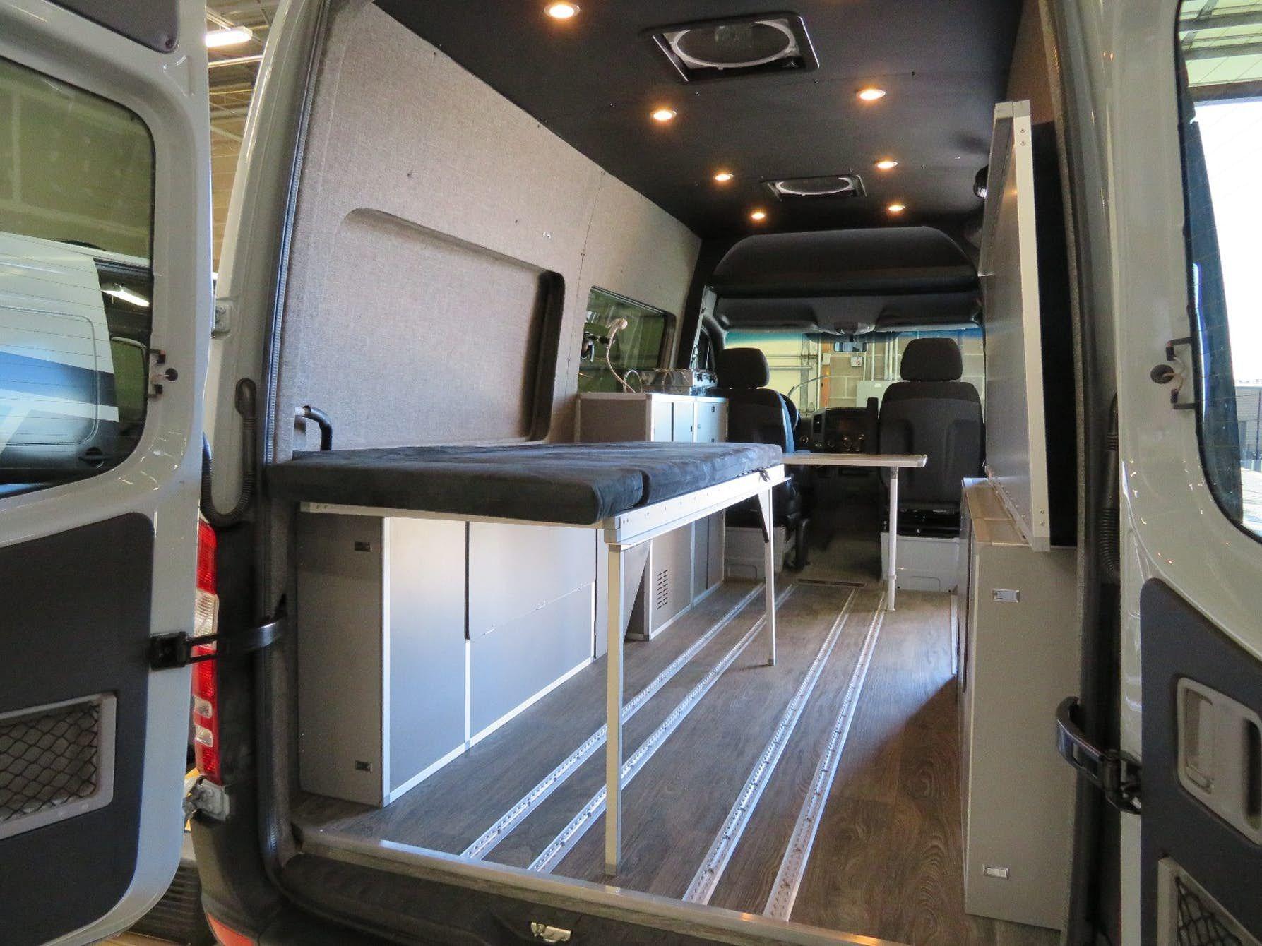 Gorgeous Wander Lust Mercedes Sprinter Camper Van Van
