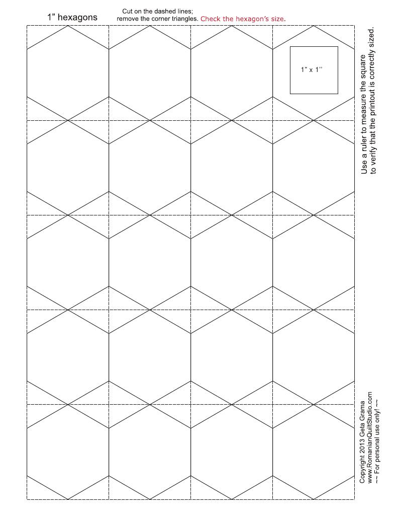 quick cut hexagon-templates.pdf - Google Drive | Craft Ideas ...