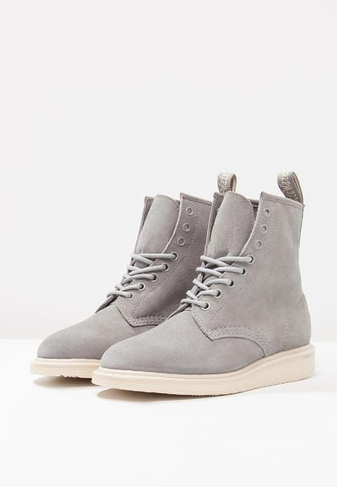 Whiton Lace Up Boots Grey Mare by Dr.