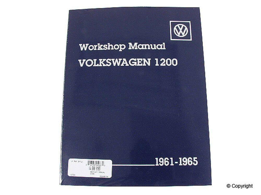 Advertisement Ebay Bentley Repair Manual Fits 1961 1965 Volkswagen Beetle Karmann Ghia Mfg Number With Images Volkswagen Repair Manuals