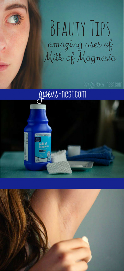 Beauty Tips Amazing uses of Milk of Magnesia Natural