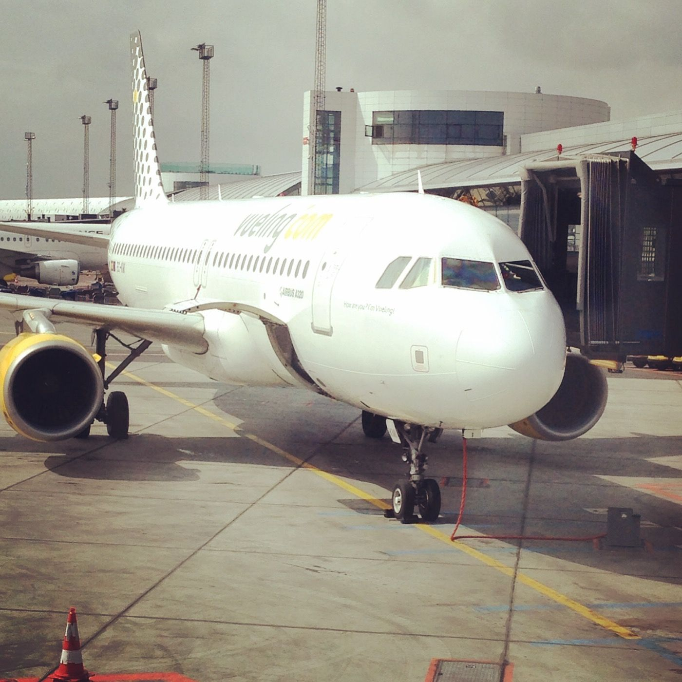 Vueling Airlines at Copenhagen Airport CPH-BCN