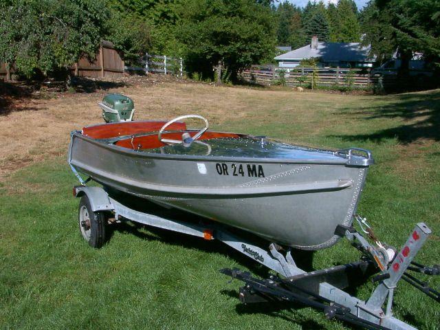 1955 Crestliner Commander 12 Boats Pinterest Aluminum Boat