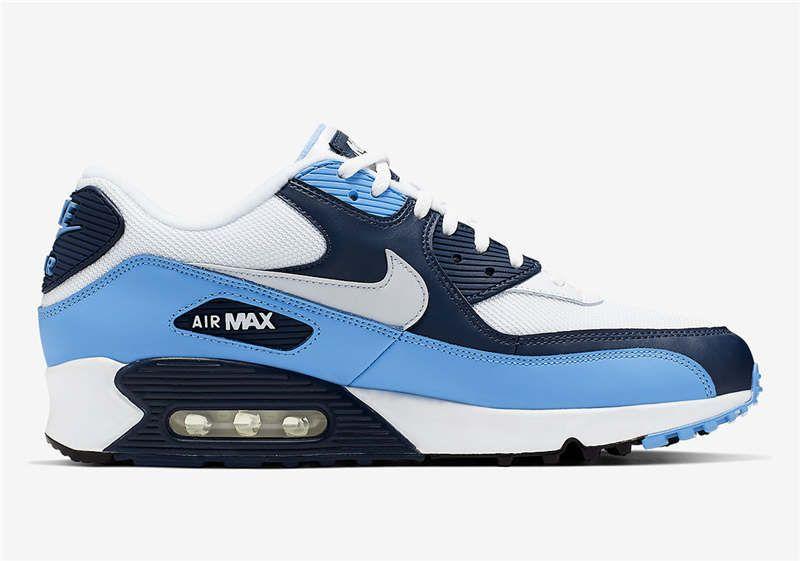 air max baby blauw