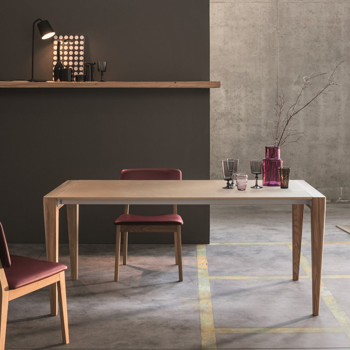 The Retro Extendable Dining Table Defines Understated Elegance. This  Minimalist Chic Table Boasts A Cool