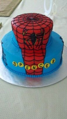 Spiderman Confectionate Cakes Raleigh NC