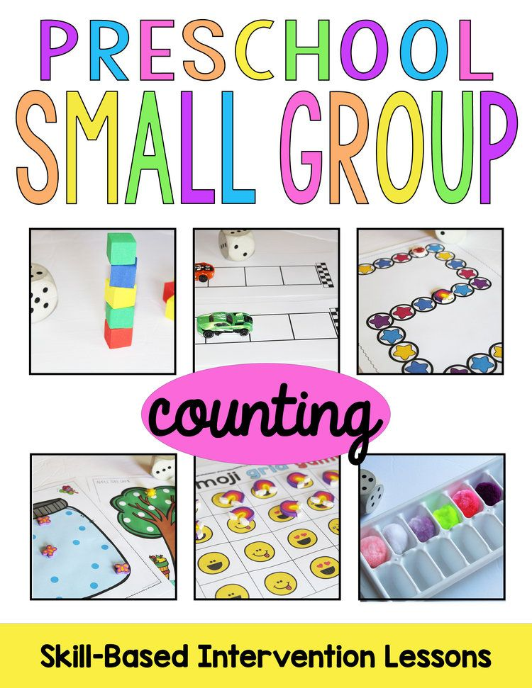 Planning Preschool Small Group (free planning kit
