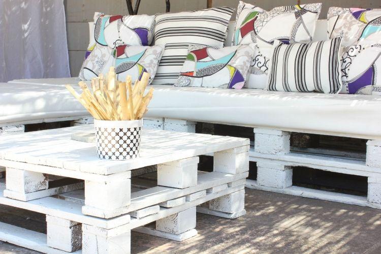 Sofa aus Paletten bauen – spannende DIY-Projekte | Sofa aus paletten ...