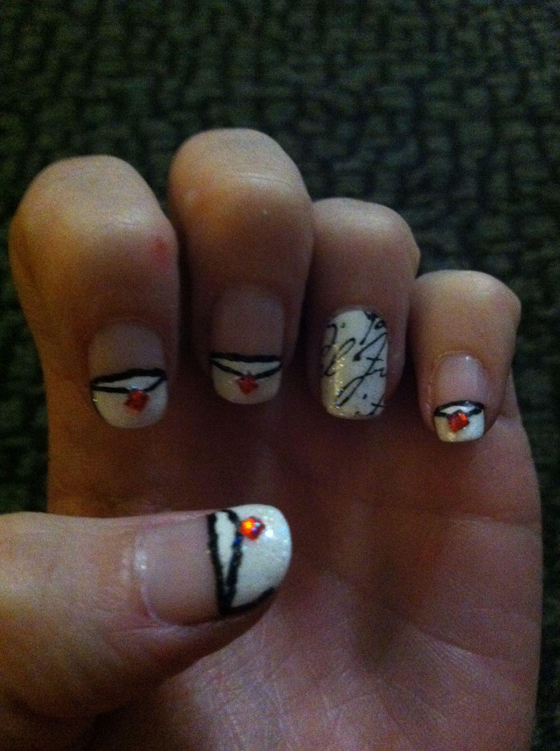 Valentine - Love Letter Nails ❤