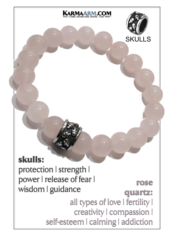 Friendship bracelets bracelet set girlfriends quartz rose quartz 6 mm