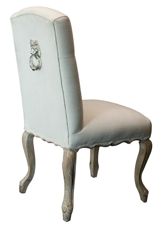 The Eye Catching Leo Dining Chair With Door Knocker Is A Piece Fine Details That