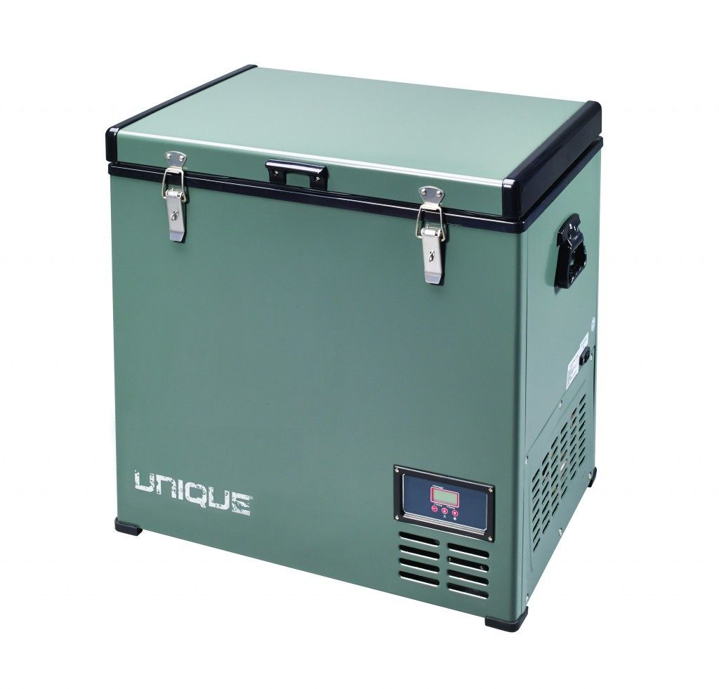 Unique 80L Portable 12V Fridge Freezer Combo