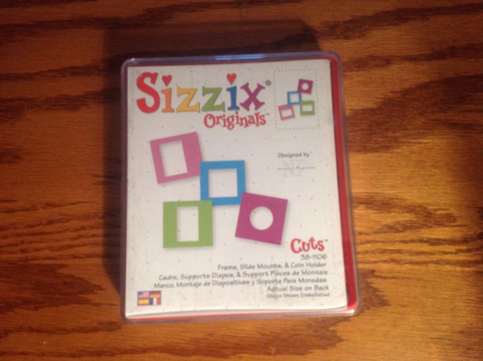 Sizzix Red Die Originals Frame Slide Mounts Coin Holder   eBay