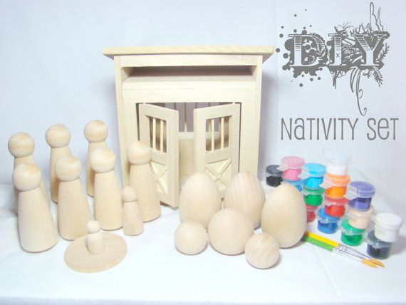 Reserved for hannah diy wooden peg doll nativity set por pegged reserved for hannah diy wooden peg doll nativity set por pegged 4800 solutioingenieria Choice Image