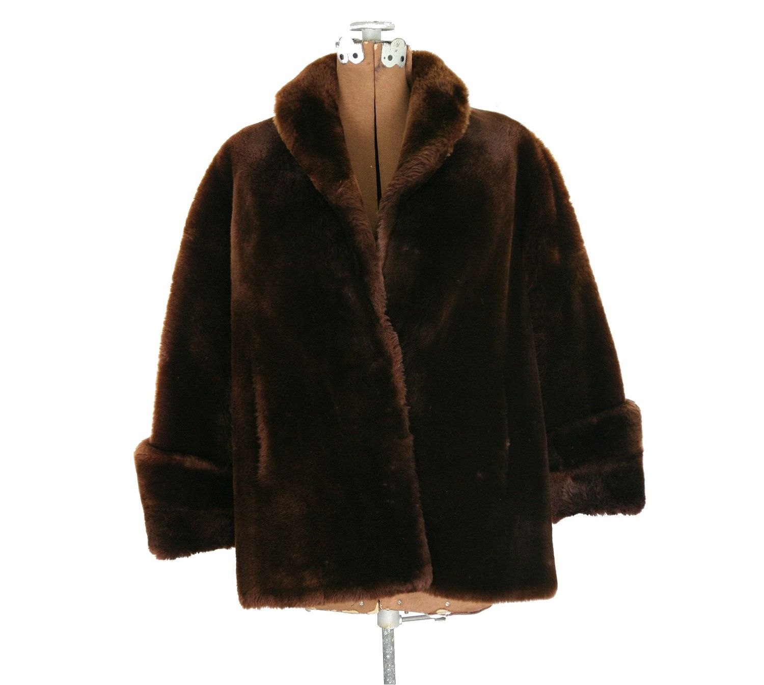 50's style Mouton jacket. Got one for Christmas at age 15. Mine black