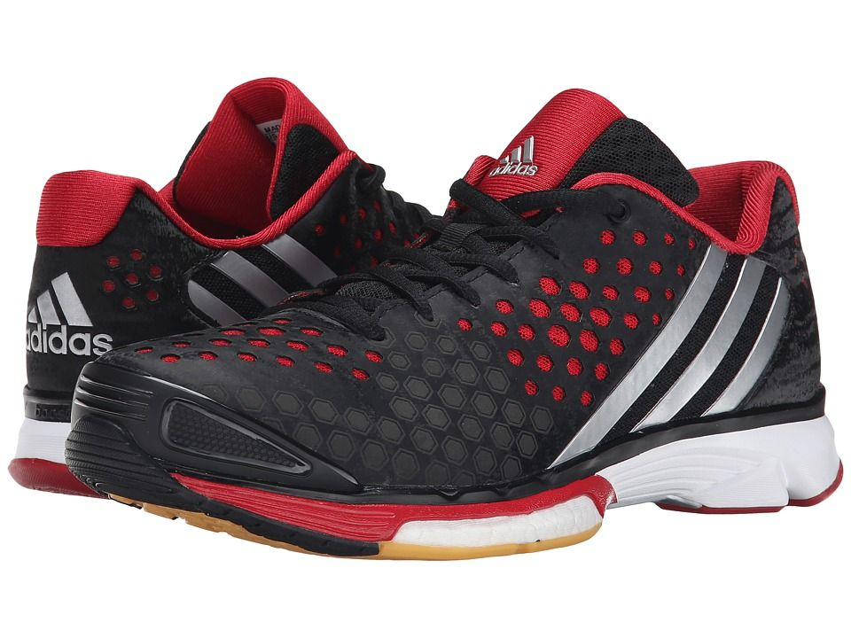 adidas volleyball shoes. the adidas volley response boost boasts a breathable supportive seamless upper that has patterned perforations for lightweight support. volleyball shoes s