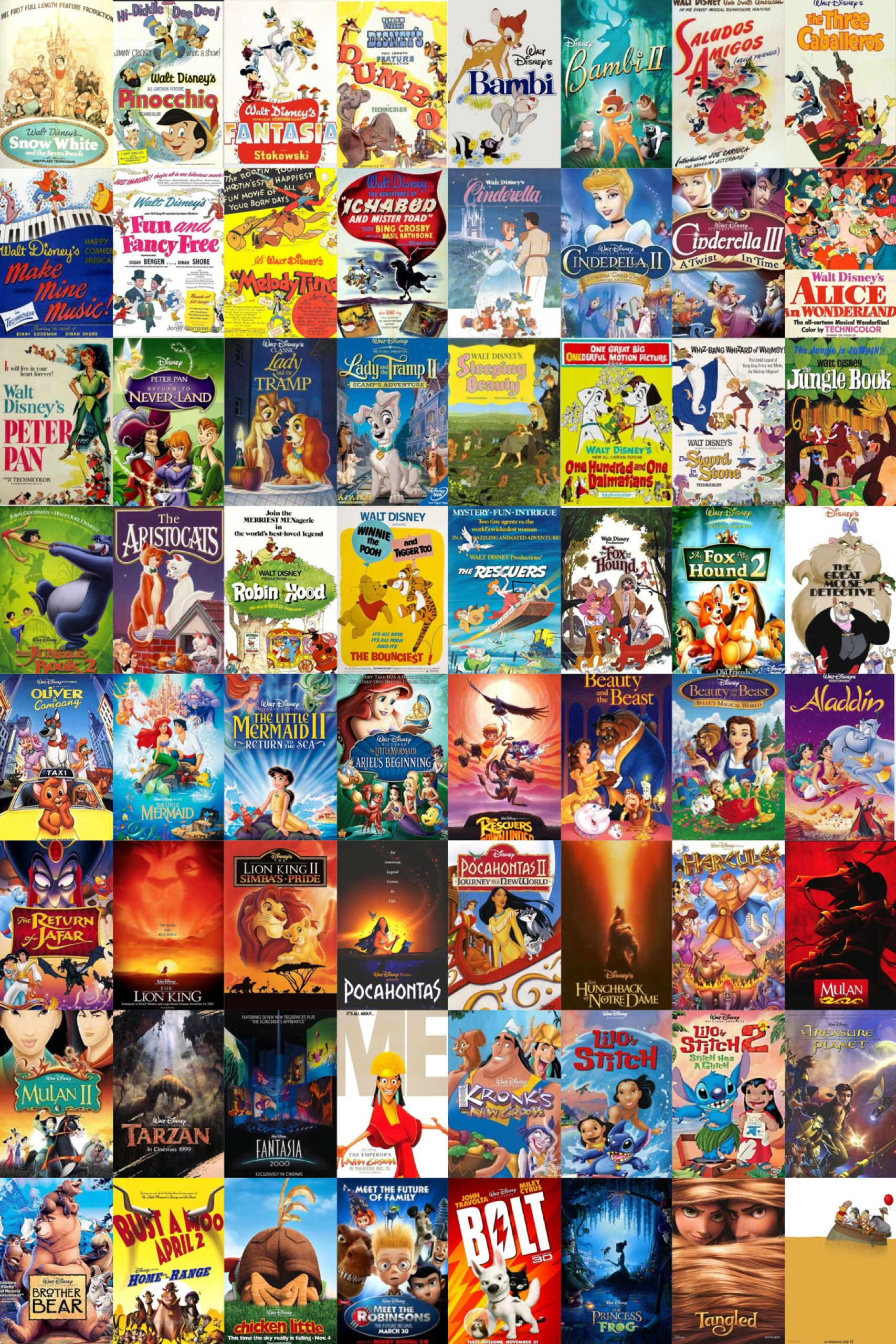 Disney animated movies Movies for the kids Pinterest